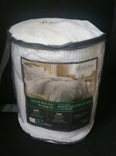the seasons collection light warmth white goose down comforter seasons collection light warmth twin white goose down comforter ebay