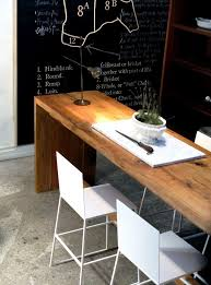 Narrow Kitchen Bar Table Would 2 Narrow Tables One For Laptop Desk Another For