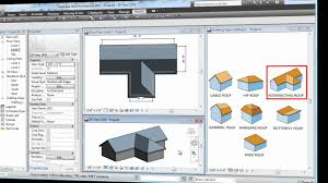 Hip Roof Design Software by Revit Roof Basics 04 Intersect By Roof Join Cadclips Youtube
