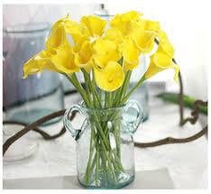 Silk Calla Lilies Discount Silk Calla Lily Bouquets For Weddings 2017 Silk Calla