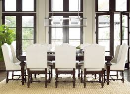 universal proximity dining set with rectangular table and