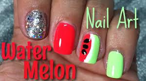 watermelon nail art tutorial nail polish pursuit youtube