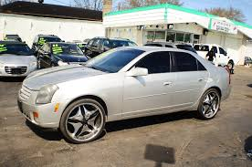 cadillac cts used cars for sale 2007 cadillac cts 4dr silver sedan used car sale