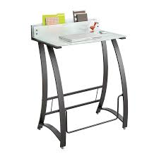 Computer Stand Up Desk by Amazon Com Safco Products 1941tg Xpressions Glass Top Stand Up