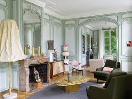 Parisian Living Room by Paris Curbed