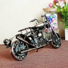 shop handmade retro iron motorcycle model ornaments vintage