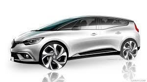 renault scenic 2017 2017 renault grand scenic design sketch hd wallpaper 13