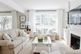 Sofas Facing Each Other Contemporary Living Room - Decor pad living room