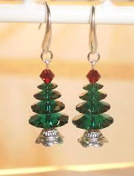 swarovski tree earrings by southbreezedesigns
