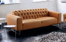 sofa kunstleder tilda sofa kunstleder cognac ledermöbel ledersofa