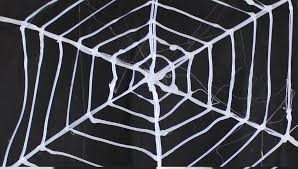 how to make a spider web using glue youtube