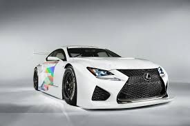 lexus rcf logo lexus rc f gt3 racer debuts in detroit will race in u s by 2016