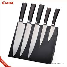 high class stainless steel kitchen knife and fork fruit knife set