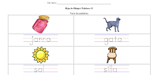 teaching español practice writing letters and words with spanish