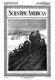 the first world war scientific american