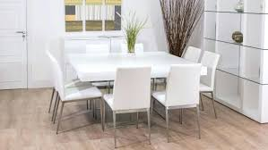 8 seat square dining table and chairs chair glass seater set