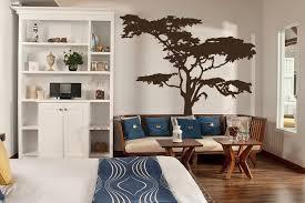 headboard wall art realistic african tree wall decal headboard wall decal home