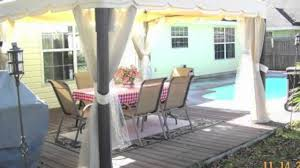 Replacement Canopy For 10x12 Gazebo by Home Depot Pacific Casual 10 X 12 Replacement Canopy Youtube