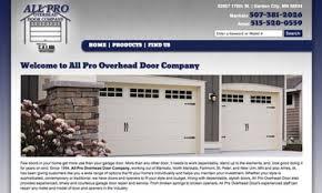 Pro Overhead Door All Pro Door Voyageurweb