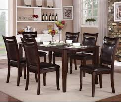 chair homelegance blossomwood 5404 54 cherry black round dining