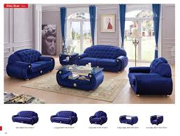 classic living room furniture sets giza fabric in dark blue fabric sets living room furniture