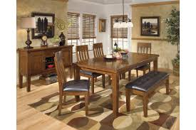 ashley dining room sets ashley d594 35 01 00 ralene 6 piece rectangular dining room
