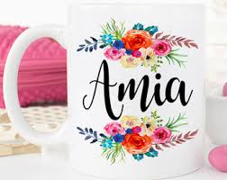 Personalized Mugs For Wedding Custom Name Mugs