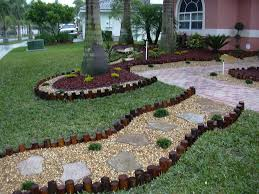 landscaping ideas for front yard with stone the garden inspirations