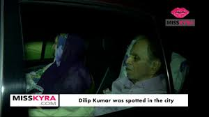 dilip kumar was spotted in the city youtube