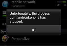 7 solutions unfortunately the process android phone has stopped - Android Phone Stopped