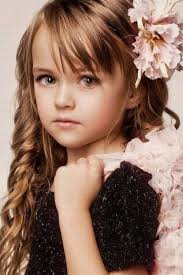 little girls with long hair and bangs kids fashion pinterest
