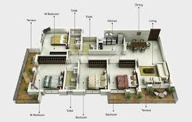 4 bhk floor plan 3d getpaidforphotos com