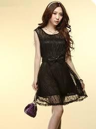 Girls Lace Slim Tank Mini Dress