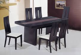 contemporary kitchen table chairs popular contemporary dining table and top modern dinner table set