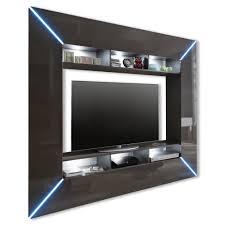 Beleuchtung Wohnzimmer Fernseher Tv Wand Scooter Grau Hochglanz Led Beleuchtung Tv Wände