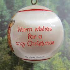 warm wishes for a cozy strawberry shortcake ornament