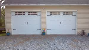 Garage Doors Charlotte Nc by 2 Single Garage Doors With Hardware 2 U2013 Pineville Nc A Plus