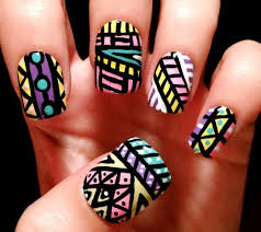 45 tribal aztec nail designs photo callina marie u0027s photos nail