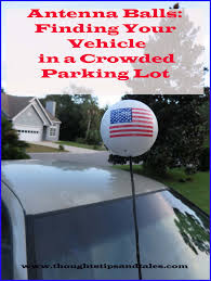 Car Antenna Flags Antenna Balls Finding Your Vehicle In A Crowded Parking