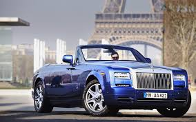 cartoon rolls royce hd background rolls royce phantom convertible dark blue front side