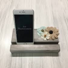 phone smartphone iphone ipad mobile device wood stand docking