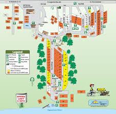 Savannah Map Savannah Oaks Rv Resort Local Area Mobilerving