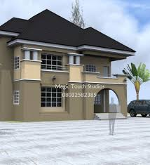 Residential Homes And Public Designs Mrs Udeeme  Bedroom Duplex - Duplex homes designs