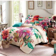 Duvet Without Cover Winter Warm 100 Sanded Cotton Bedding Sets 4pcs Bohemia Boho