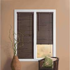 charming wood mini blinds for window treatment u2014 home ideas collection