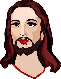 face of christ pencil drawing public domain vectors