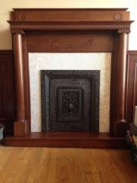 subway tile fireplace herringbone wpyninfo