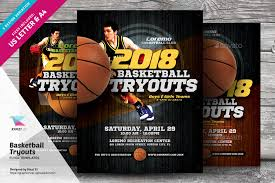 basketball c brochure template basketball tryouts flyer templates by kinzi21 graphicriver