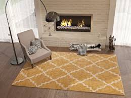 3x5 Area Rug Golden Yellow 3x5 3 3 X 4 7 Area Rug Trellis