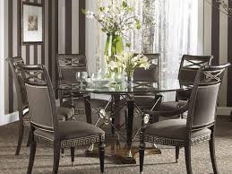 modern round kitchen table kitchen round kitchen table and chairs set and 9 glass dining
